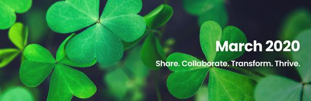 Share. Collaborate. Transform. Thrive.