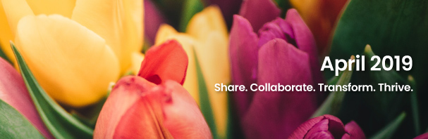 Share. Collaborate. Transform. Thrive.