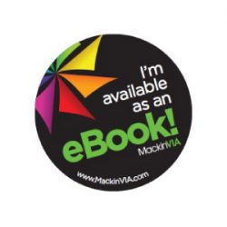 I'm Available As An eBook! Sticker